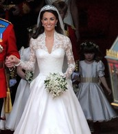 Kate on her wedding day!