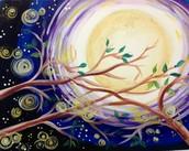 Windy Moonrise