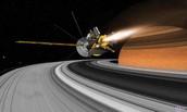 Some satellites on Saturn