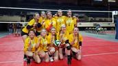 Charlottesville Area Volleyball Club -- 18 Silver