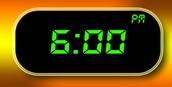 ¿A que hora te levantas?