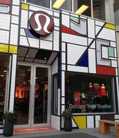 Lululemon outlet in Yorkville, Toronto