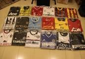 i'm selling original grade football shirts at a low price