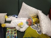 Babies at Books Before Bedtime