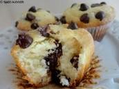 Chocolate flood muffin