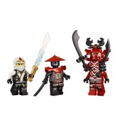 The crazy weapons from Ninjago