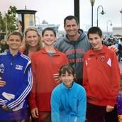 Coach Stricker & Family