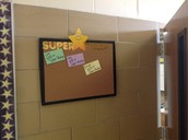 Teacher to Student Affirmation Board
