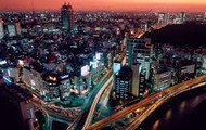 City life booms in major cities in Japan.