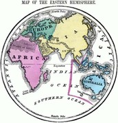 It is in the Eastern Hemisphere.