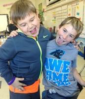 Nice pose Garrett and Jacob!