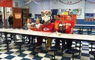 KC Wolf Promotes School Breakfast