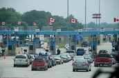 Border Between US and Canada