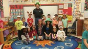 Mrs. Goin, Ms. Kerr, Mr. Porter & Room 116 ~ Crazy Hat Day!