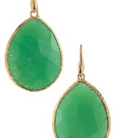 Serenity Stone Earrings - Green