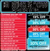 RI Bike Show Sale starts today!