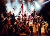 """""""Les Misérables, Broadway musical"""""""