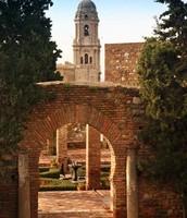 Los jardines de la Alcazaba de Málaga