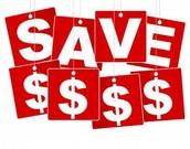 10. Save Save Save!