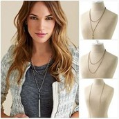 Gitane tassel necklace (silver) $35