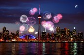 Canada Day in Toronto Showcases Astounding Fireworks!