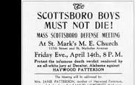 Scottsboro Boys must not die!