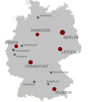 Germany's other cities that are not the capitol