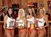 Come to Hooters and watch  the Super Bowl final
