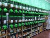 Vasto assortimento di alimentari sfusi e detergenti alla spina!!!
