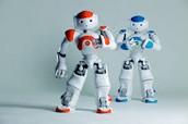 Orange and Blue Color Bot
