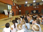 Author Jennifer Holm Also Visits with Lower School!