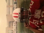 My dad played football when he was at his first school. He later went to play golf for his high school.