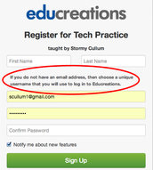 Students  Can Sign Up Without Email