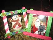 Craft Idea for Santa's Workshop IDEA #1: FRAMES