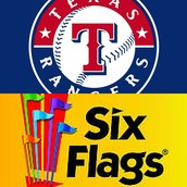 Rangers Game and Six Flags Summer Sign Ups