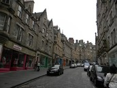 Cobblestone Roads of Edinburgh