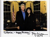 Clinton birthday card to Monica Lewinsky