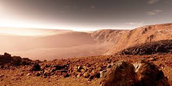 Sunrise of Mars