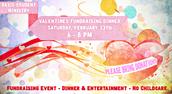Valentine's Fundraiser Dinner Details