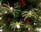 Spiders and Tinsel on the Tree