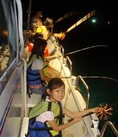 夜釣小管活動