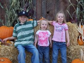 Me and My SIblings at The Pumpkin Patch