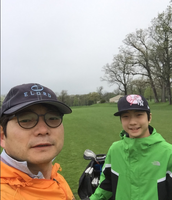 Golfing with my dad
