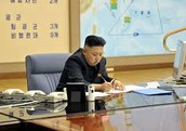 North Korea Signing the Treaty