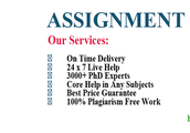 Avail The Ideal Marketing Assignment Help At Casestudyhelp.com