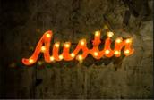 It's in Austin