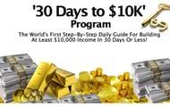 30 Days to $10K' Program