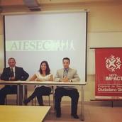 Firma de convenio - CEDRES Perú