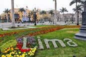 Welcoming from Lima, Peru