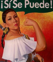 Latina Rosie The Riveter (Unkown Year & Artist)